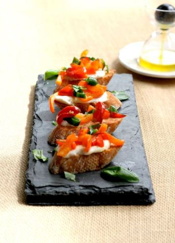 crostini-peppers